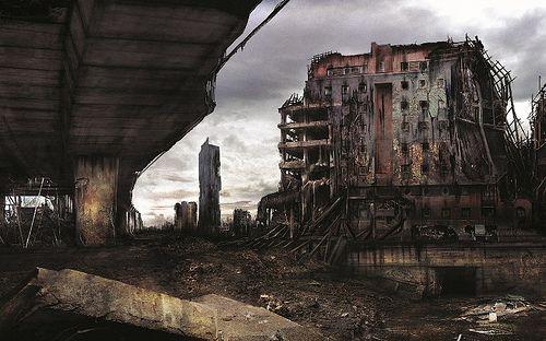 Manchester Apocalypse - Mancunian Way & Beetham Tower  James Chadderton