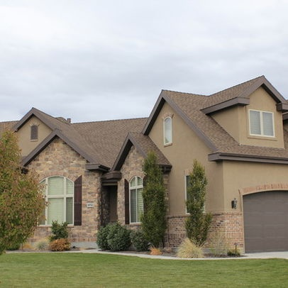 17 best images about stucco paint colors on pinterest New homes tulsa area