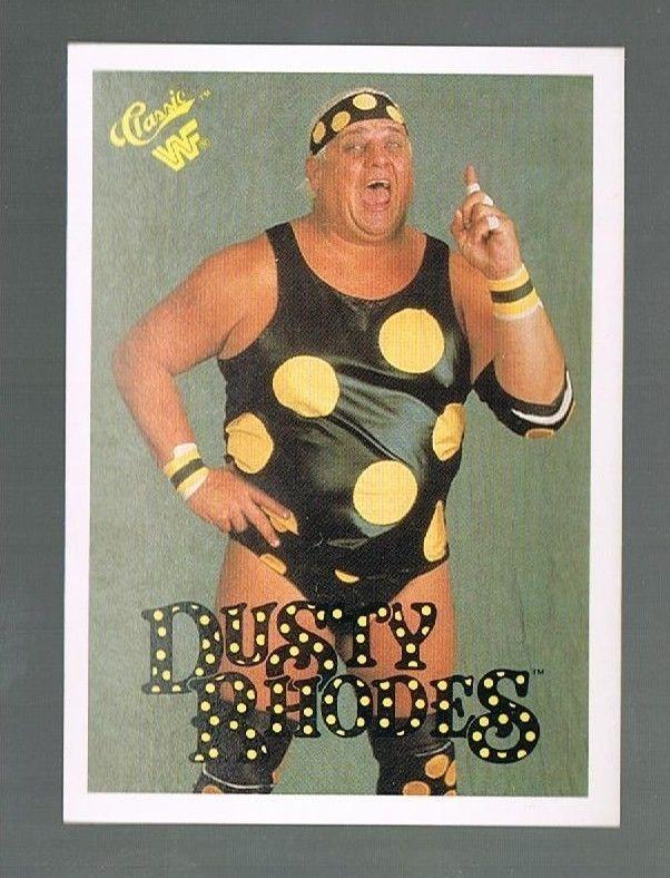 1989-1990 Classic WWF WWE DUSTY RHODES #16