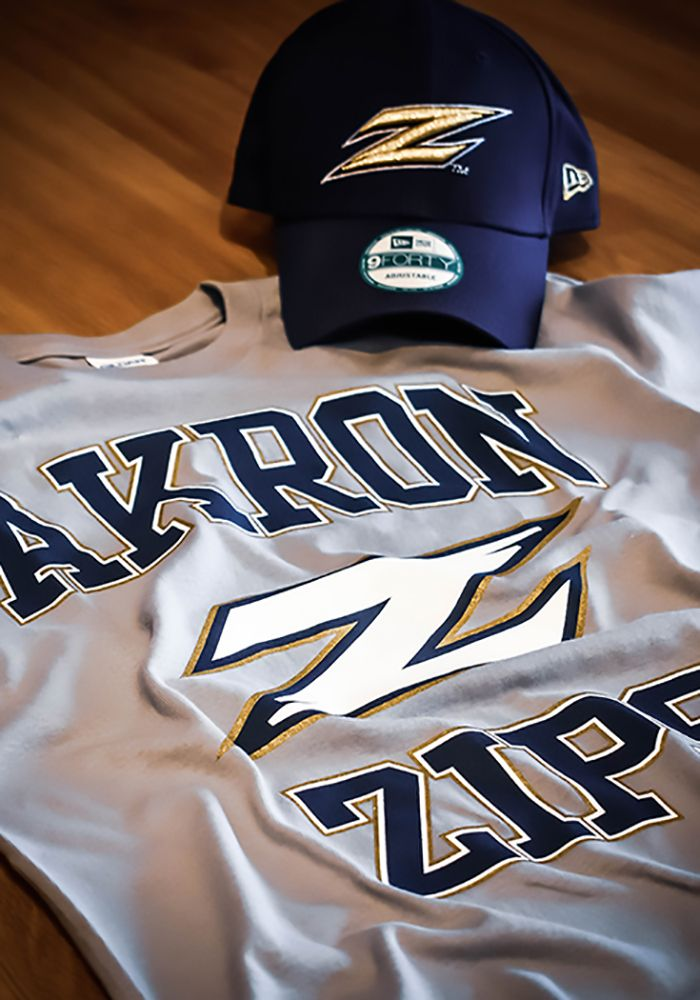 quality design 255a5 2c3c9 Akron Zips Grey #1 Short Sleeve T Shirt - 22783124 ...