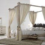 Dormitorios en Bambú,en la foto modelo Cabana con Dosel espectacular que llamará la atención en cualquier estancia de la casa.
