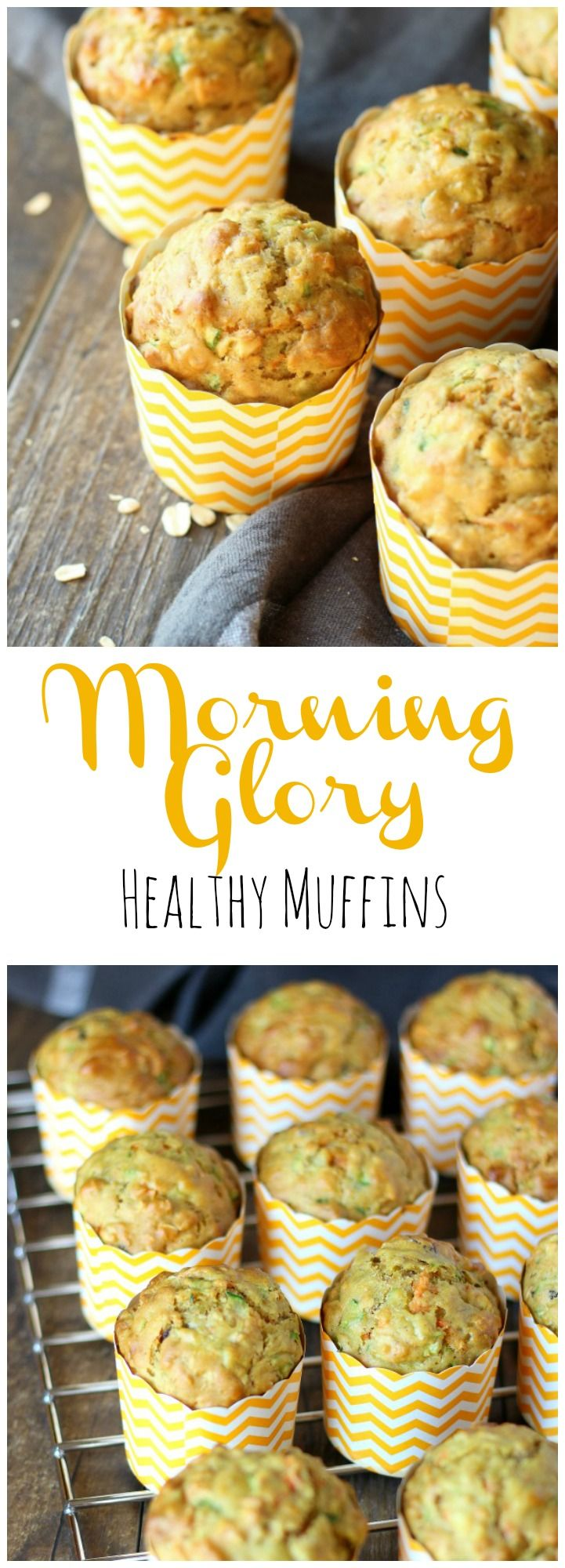 Make your mornings a lot simpler with a batch of these delicious hearty and healthy Morning Glory Muffins! gardeninthekitchen.com