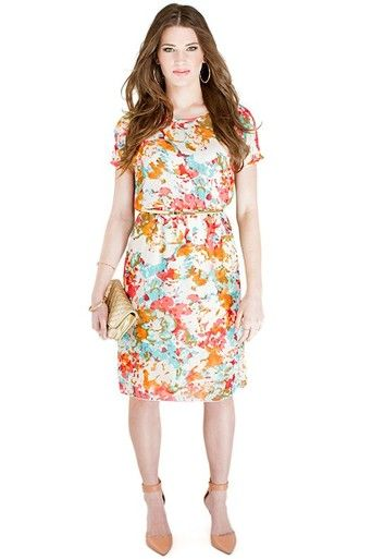 Gina - Floral - Omika Great dress if you're a guest at an upcoming wedding!