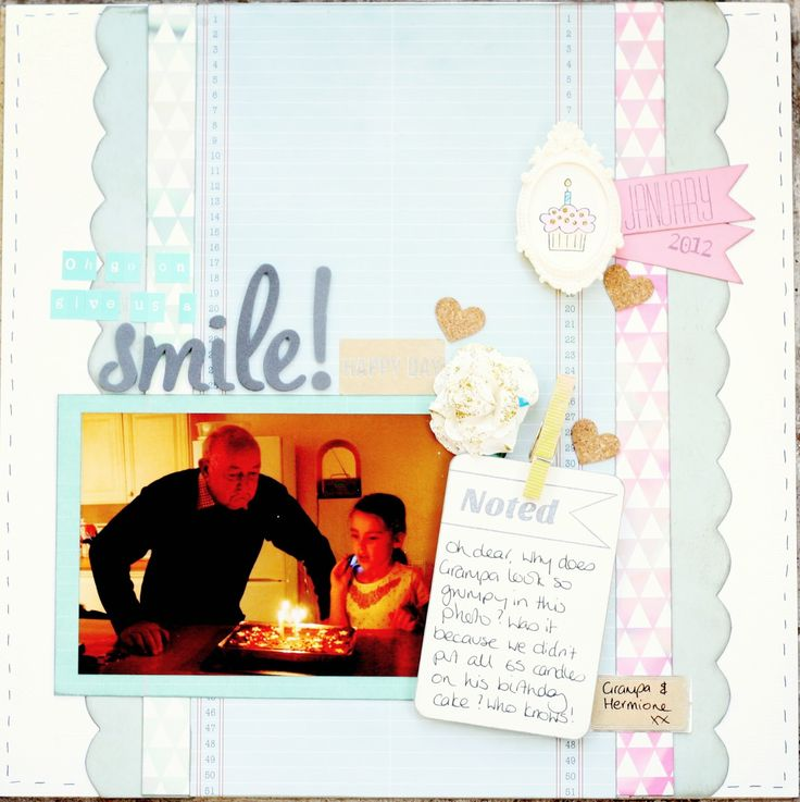 Crafty Alchemy Blog: New Year, New Start & Lots of Crafty Goodness. Scrapbook layout
