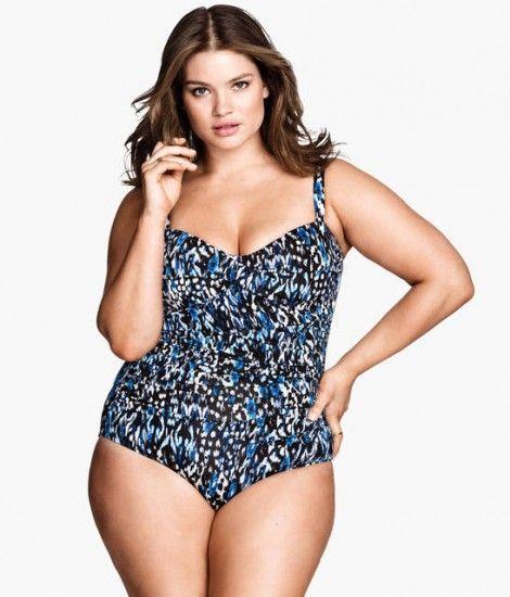 Costumi da bagno per donne curvy sensuali con il bikini ecco quali scegliere jennie runk per h - Costumi da bagno curvy ...