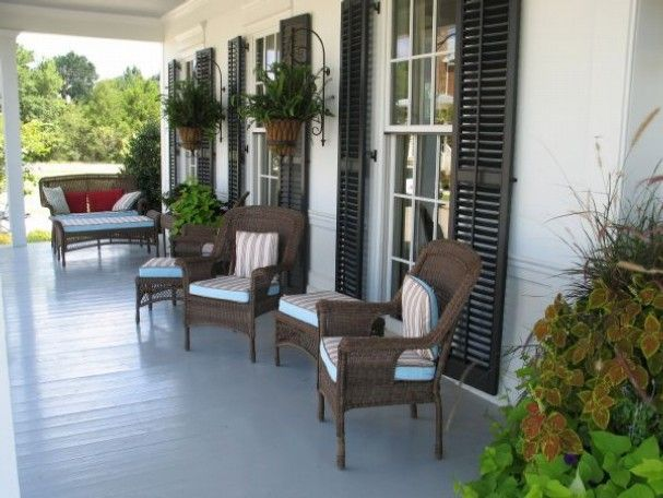 The Southern Living Idea House Is As Much About Being Outdoors As It Is  Living Indoors. Here, The Front Porch Is One Of Three Wide, Large Porches  Easily ...