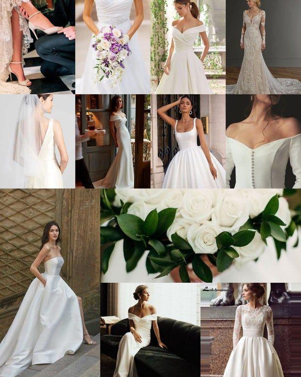 Dramatic Classic Bridal Inspo Kibbe In 2020 Dramatic Classic Classic Wedding Dress Bridal