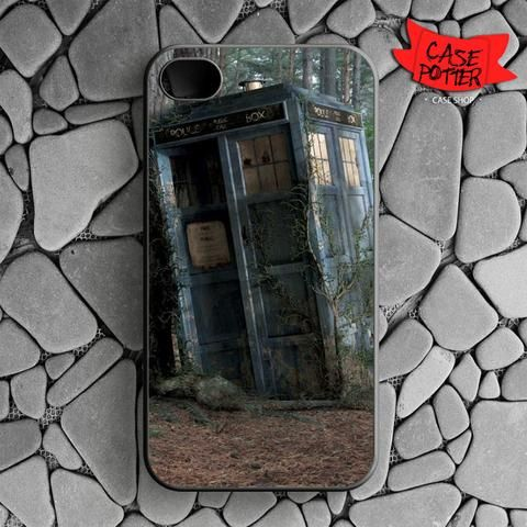 Abandoned Tardis Doctor Who iPhone 4 iPhone 4S Black Case
