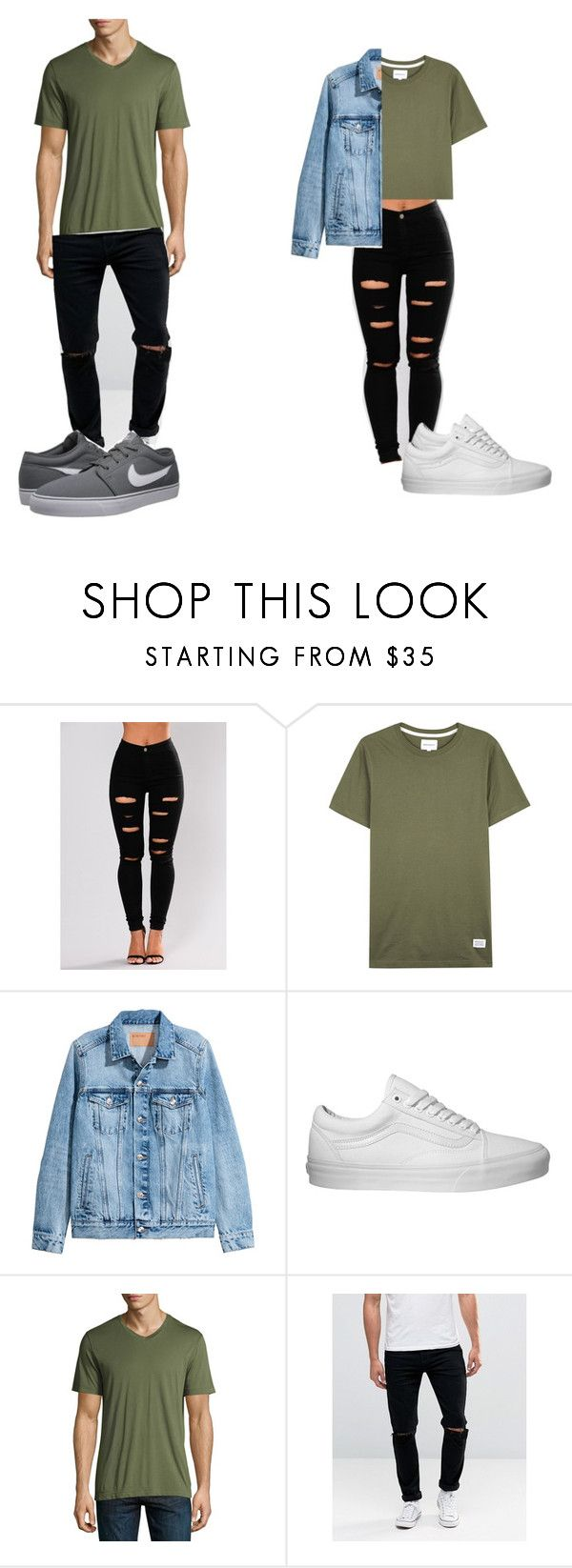 fgmsgkm by laral23 on Polyvore featuring Vans, Velvet, ASOS, Norse Projects and NIKE