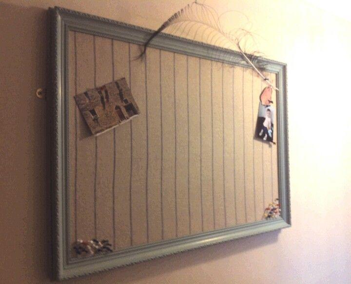 Funky notice board