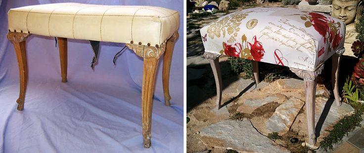 Antes y después de una banqueta o descalzadora encontrada en la ...