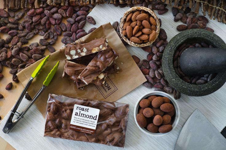 """NOOSA CHOCOLATE FACTORY. """"Uncomplicated Australian chocolate products made fresh in the last 7 days."""""""