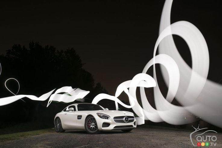 2016 #MercedesAMG #GTS #lightpainting Check out our review and photo gallery