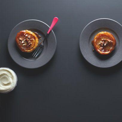 Lorraine Pascale Recipes | Spiced Apple Tarte Tatins recipe | Dessert Recipes | Red Online