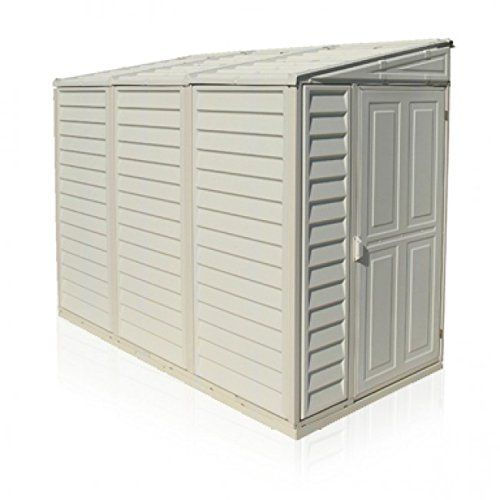 Duramax  ft Little Hut Plastic Shed - Ivory---329---