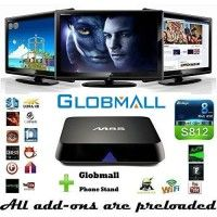 Globmall M8S Fully Loaded KODI Quad Core Android 4.4 Smart Set Top TV Box + Globmall Phone Stand   Get 2016 Newest Globmall M8S Android fully loaded TV box with KODI now!! Notice: Make sure that your remote points to the TV Box not TV. More Read  more http://themarketplacespot.com/television-video/globmall-m8s-fully-loaded-kodi-quad-core-android-4-4-smart-set-top-tv-box-globmall-phone-stand/  Visit http://themarketplacespot.com to read more on this topic