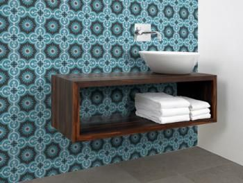 Marrakesh Artisan Bathroom Feature Tile