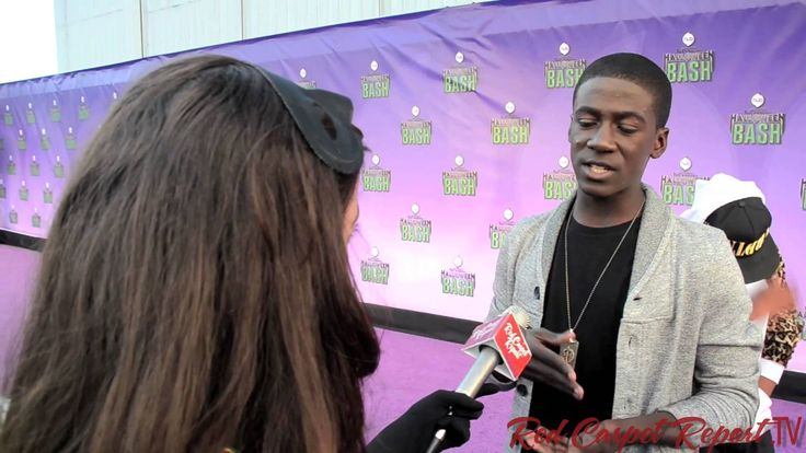 """Kwesi Boakye from """"The Amazing World of Gumball"""" at Hub TV Network's Hal..."""