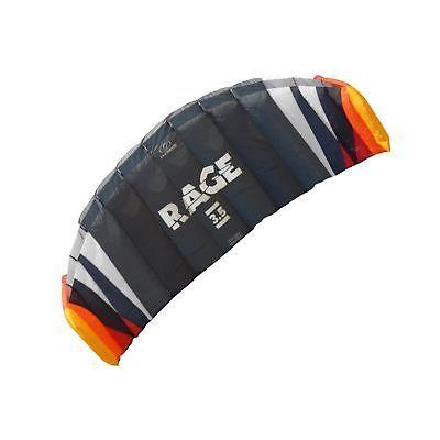 Flexifoil 1.8m2/2.5m2/3.5m2/4.7m2 4-Line Rage Sport Power Kite with 90 Day! B...
