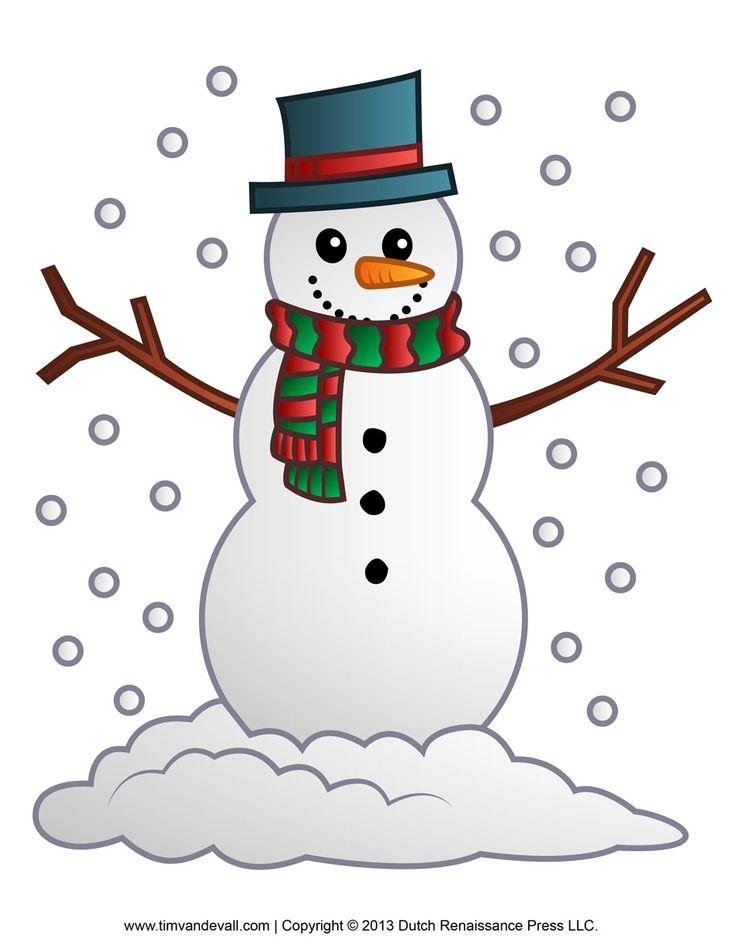 25+ unique Snowman clipart ideas on Pinterest Christmas clipart - snowman template