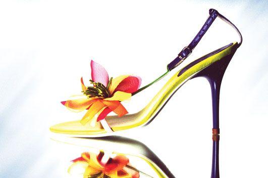 Judari Flou flower sandal