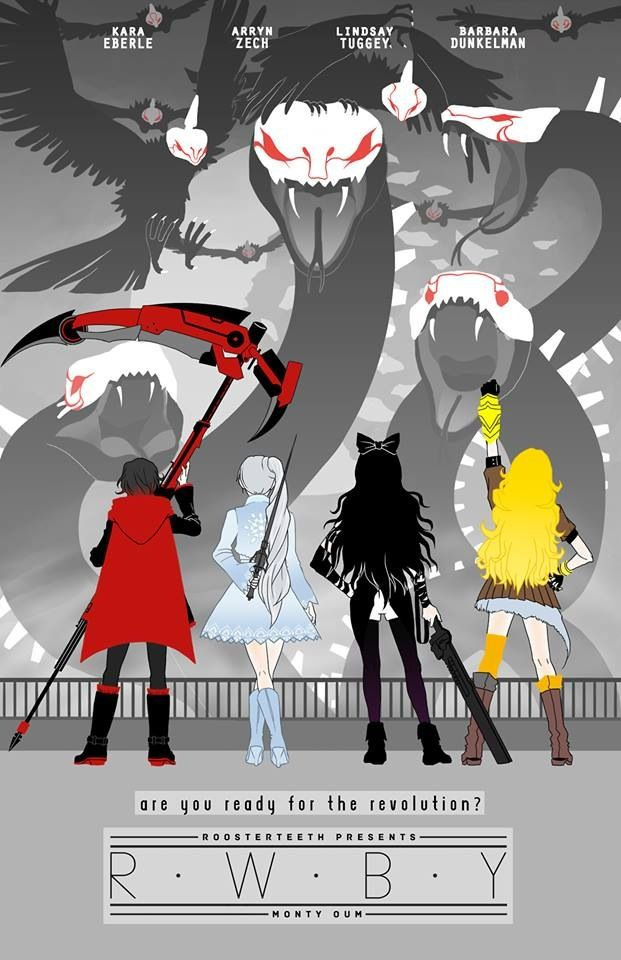 Poster of rwby