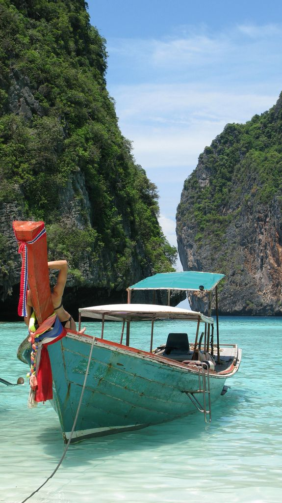 Picture-perfect Thailand.: Adventure, Buckets Lists, Cheap Travel, Fish Boats, Beautiful Places, Beautiful Thailand, Thailand Beaches, The Beaches, Krabi Thailand