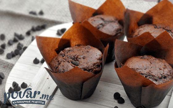 Шоколадные маффины — пошаговый рецепт с фото