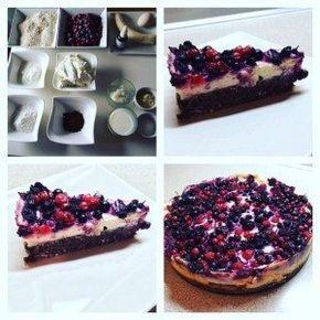 jednoduchý, zdravý dort z vloček, banánu, tvatohu, jogurtu