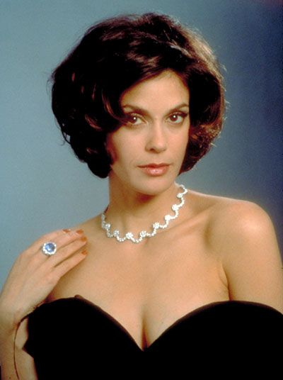 "Teri Hatcher as Paris Carver in ""Tomorrow Never Dies"" (1997)"