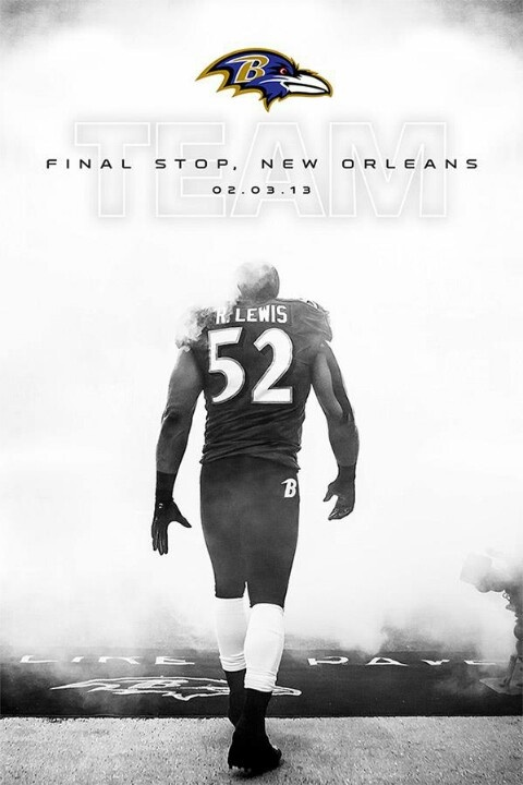 #Ravens...Super Bowl XLVII....Ray Lewis goes out with a bang!! Good job Ravens!