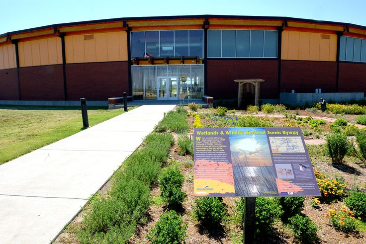 The Kansas Wetlands Education Center is located at Cheyenne Bottoms.
