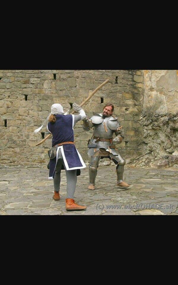 Oravský hrad - umelecký šerm