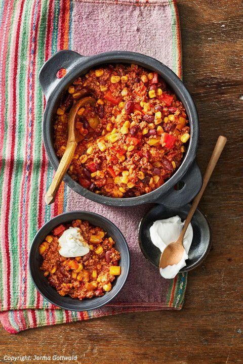 Chili Con Carne Feuriger Eintopf Heiß Umstritten Kochen Chili