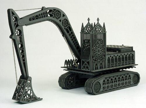 Sculpture by Wim Delvoye