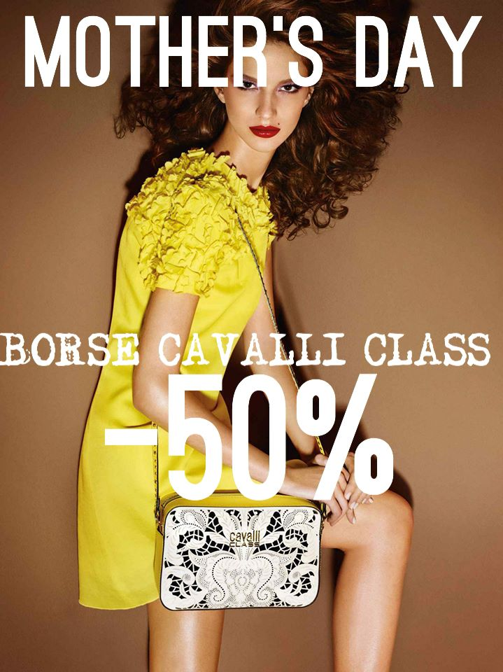 Cavalli class Bags -50%!