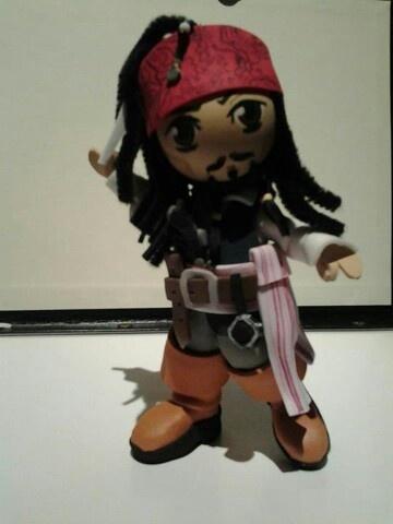 Friki fofucha Jack Sparrow piratas del caribe Pirates of the caribean