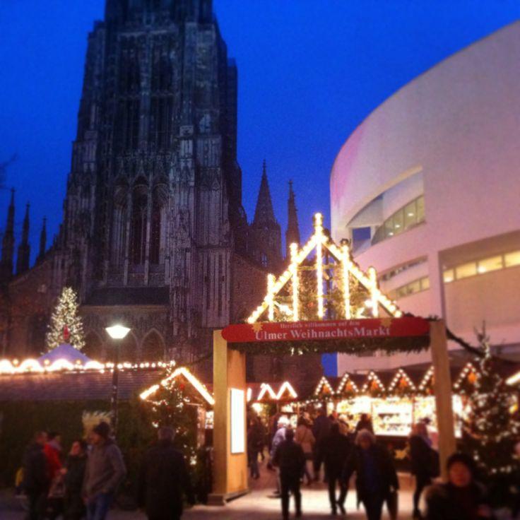 Es weihnachtet in Ulm! Ulmer Weihnachtsmarkt noch bis zum 22.12.2014! www.tourismus.ulm.de