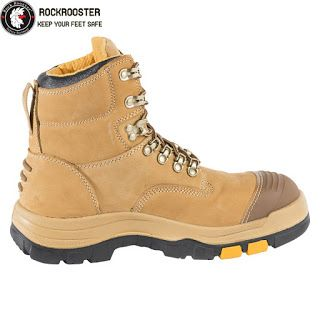 Fly Knitting safety footwear with composite tole and COOLMAX linging - china SAFETY FOOTWEAR manufacturer - Rock Rooster