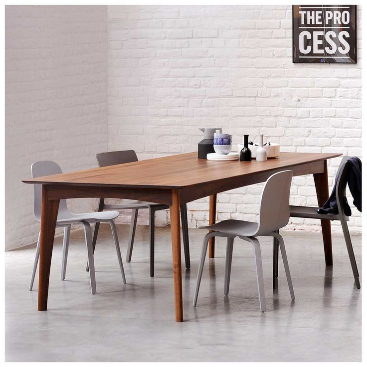 Ethnicraft Osso Tafel Wood Dining TablesDining