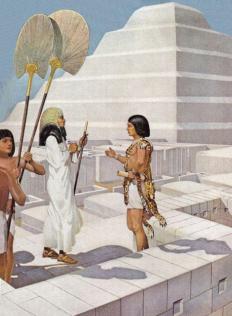 Imhotep's Masterpiece, Djoser's Step-Pyramid by Herbert M. Herget  (1941)
