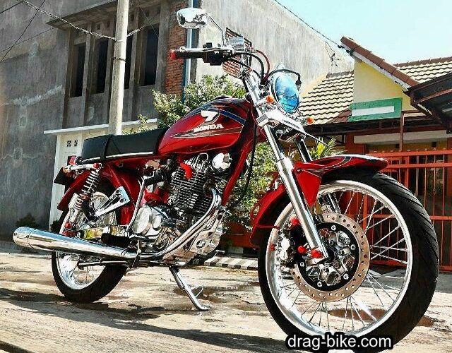 Gambar Modifikasi Motor Cb 100 Motor Pinterest Honda Cars And