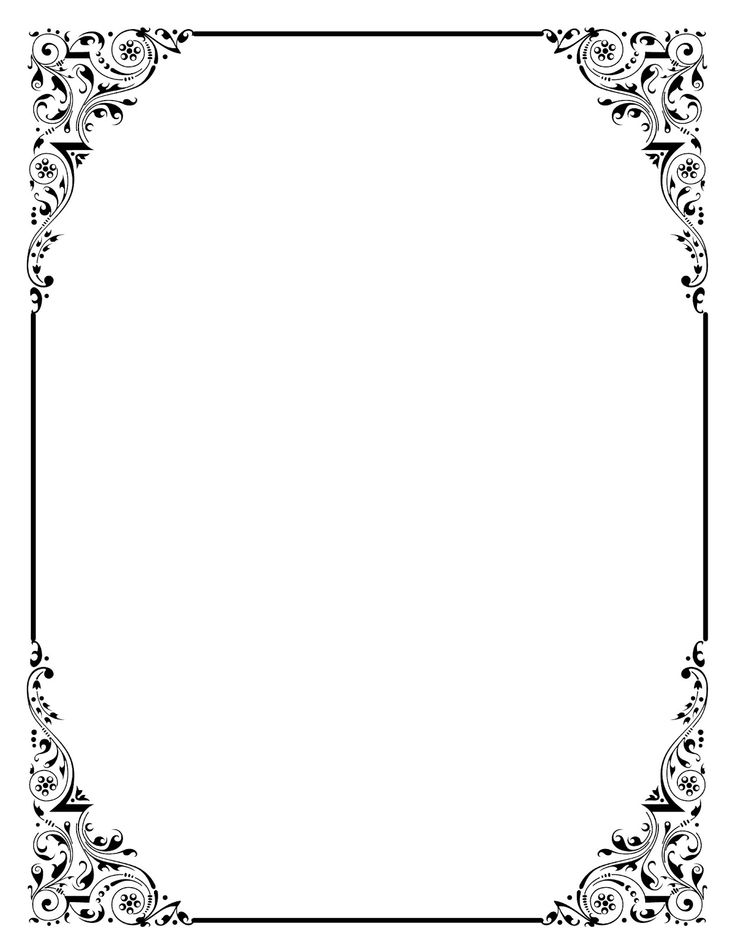 Vintage Borders And Frames Stock Images, Royalty