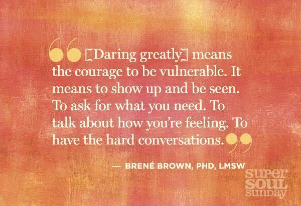 Daring Greatly Brene Brown Quote