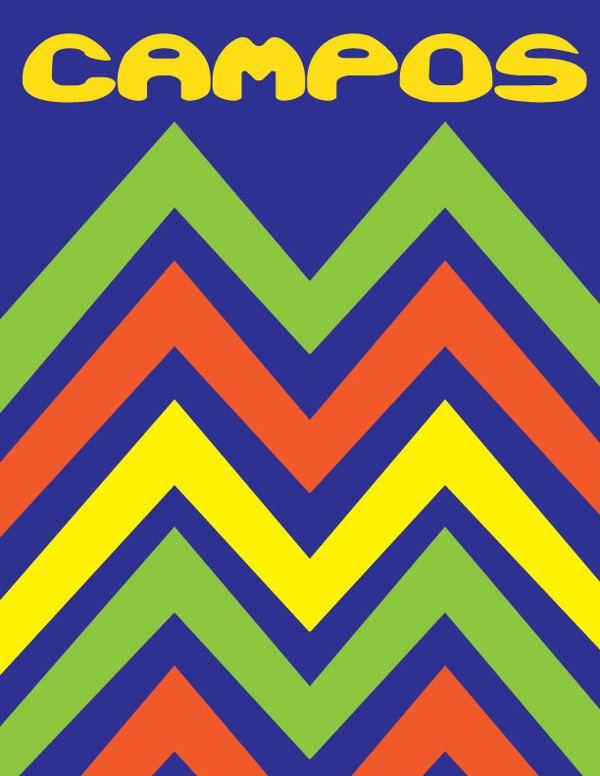 Jorge Campos Posters by Irving Vazquez, via Behance
