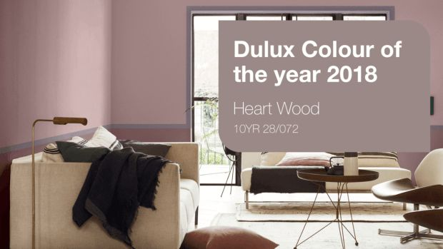 heart wood is a beautiful warm pink | @meccinteriors | design bites | #2018COTY #2018Trends #2018ColourTrends #DesignTrends