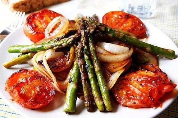 Foto de la receta de vegetales salteados