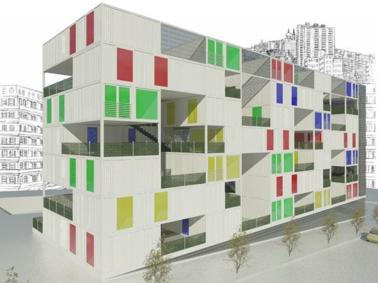 1007 best images about edificaciones comerciales de contenedores on pinterest shopping mall - Contenedores vivienda ...