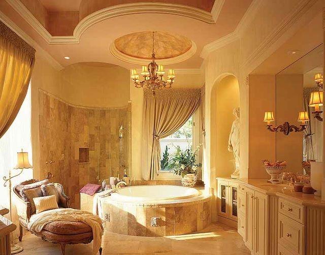 Huge formal bathroom
