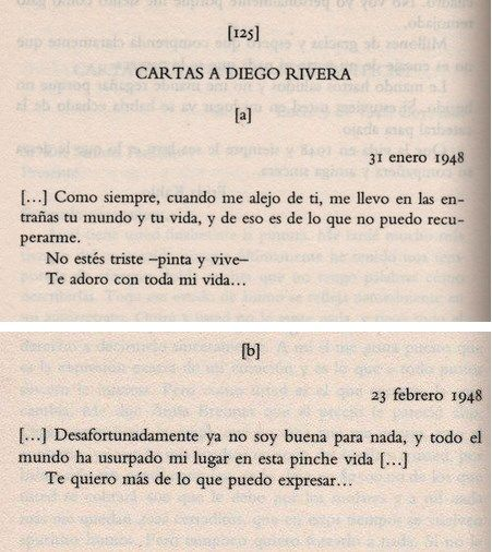 Cartas de Frida a Diego Rivera